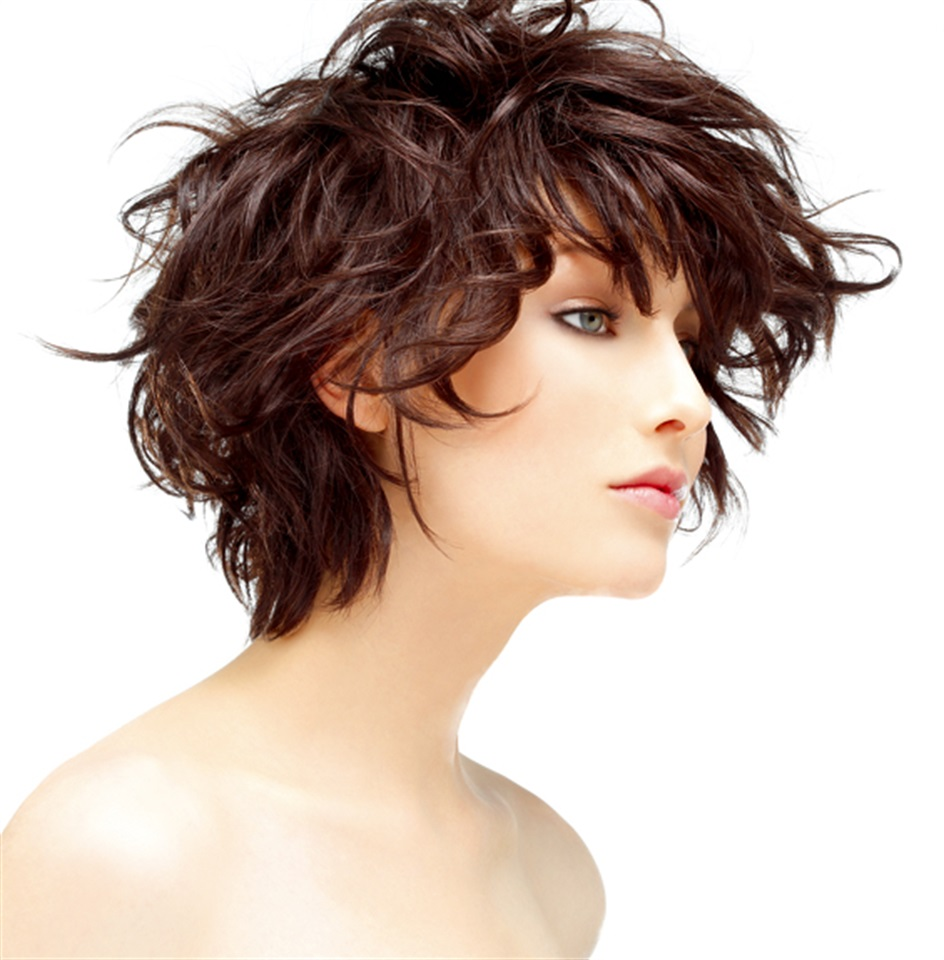 Beautiful Curly Hair Fuete Is A Style Of Haute Couture Short Curly